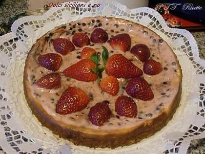 Cheesecake con fragoloni