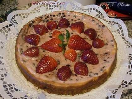 Cheesecake con fragoloni