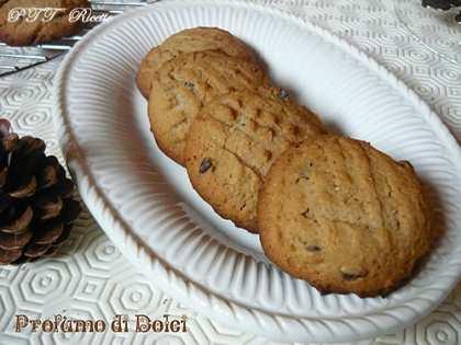 Cookies alla farina di castagne