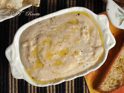 Crema di fagioli cannellini all'aglio