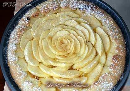 Crostata fior di mele