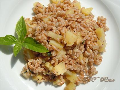 Farro e patate