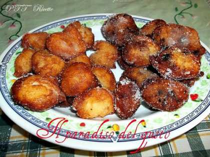 Frittelle dolci con patate