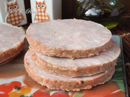 Hamburger di tacchino alla cipolla fatti in casa