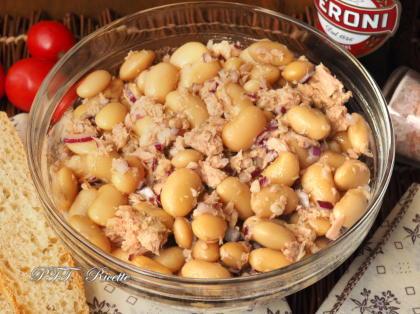 Insalata di Fagioli, tonno e cipolla