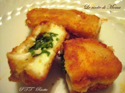 Mozzarella fritta ripiena