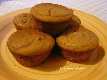 Muffin alla farina di castagne