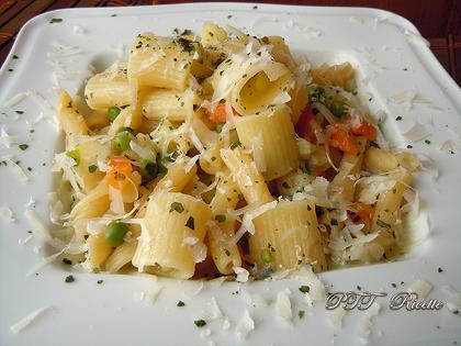 Pasta piselli e patate