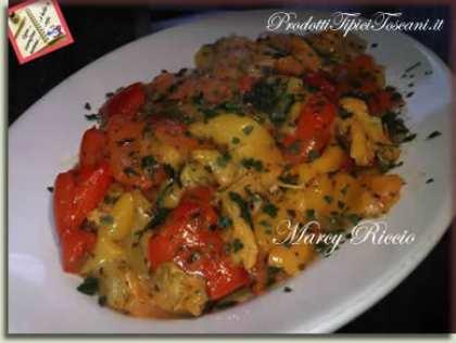 Peperoni in padella non fritti