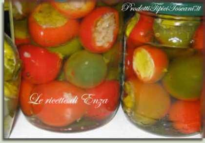 Peperoni ripieni sott'olio