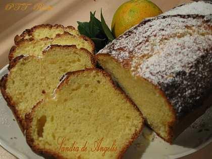 Plumcake con succo di arance e yogurt