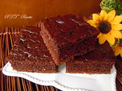 Quadrotti al cioccolato senza lievito