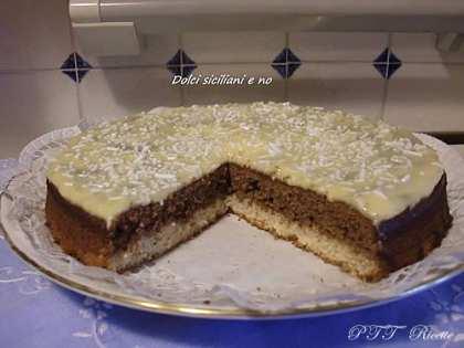 Torta bicolore Bianco e nero