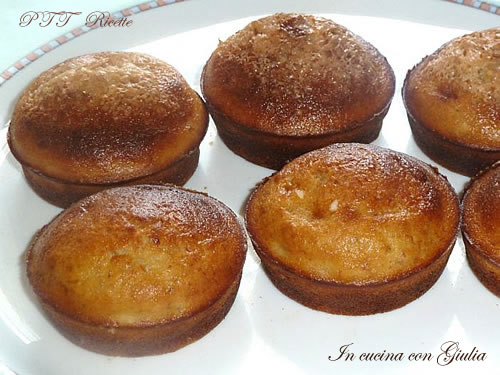 Muffin alla banana 1