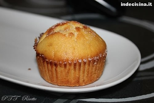 Muffin alla confettura di ciliegie 8