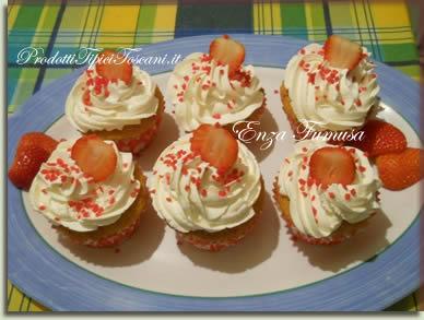 Muffin alla fragola 1