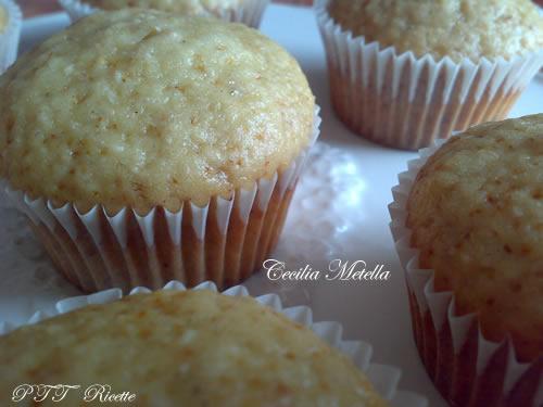 Muffin nocciole e limone