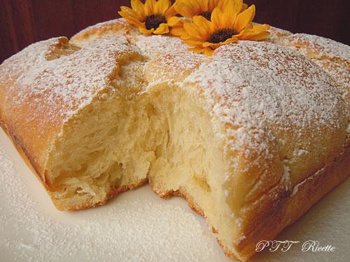 Pan brioche al limone senza burro 6