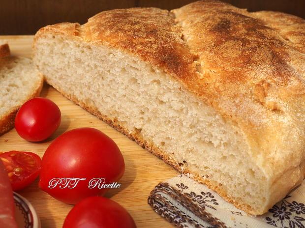 Pane con biga e lievito di birra, senza sale 13