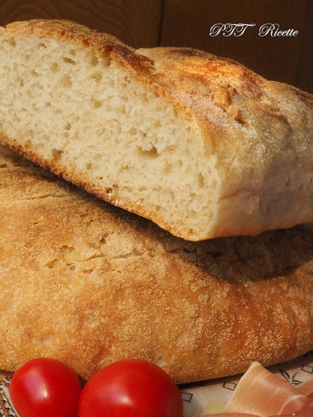 Pane con biga e lievito di birra, senza sale 14