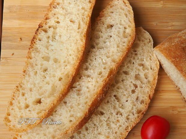 Pane con biga e lievito di birra, senza sale 15