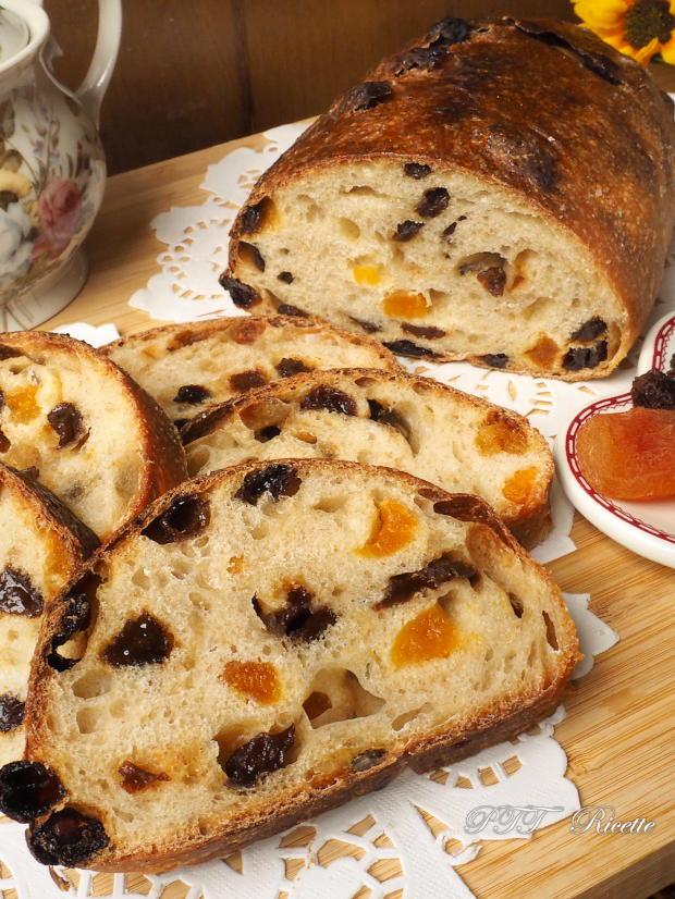 Pane dolce con lievito di kefir d'acqua e frutta secca 11
