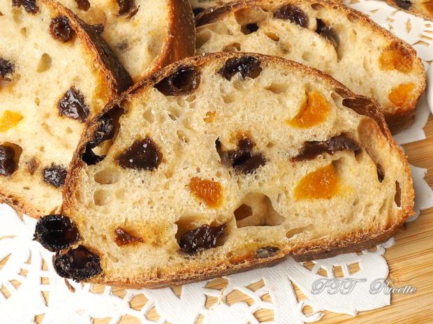 Pane dolce con lievito di kefir d'acqua e frutta secca 9