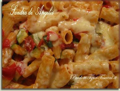 Pasta al forno con zucchine 1