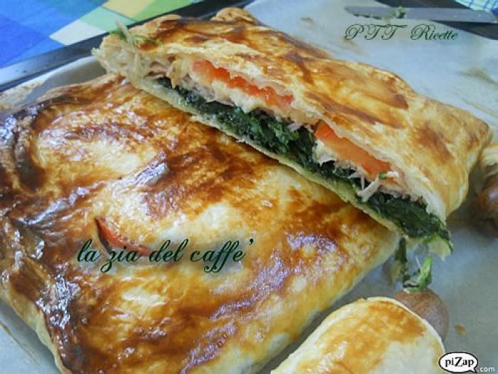 Pasta sfoglia ripiena ricetta pasta sfoglia ripiena for Torte salate con pasta sfoglia