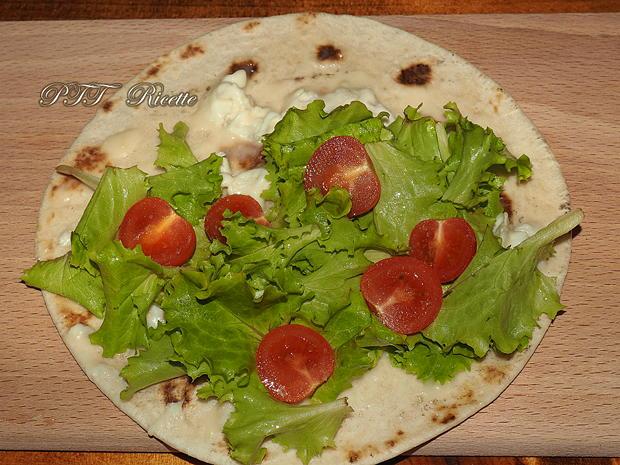 Piadina con prosciutto e Gorgonzola 3