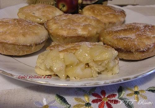 Piccole Apple Pie di frolla 1