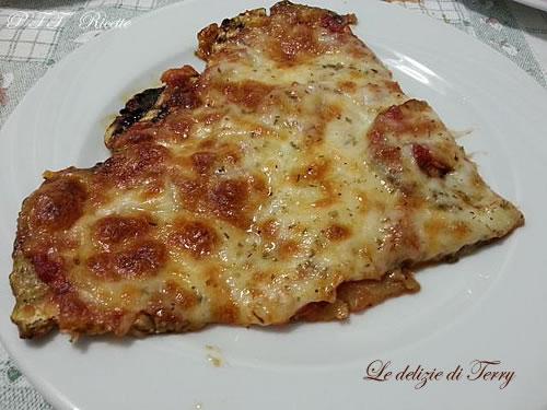 Pizza di melanzane 1