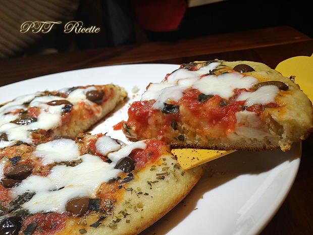 Pizza veloce cotta in padella 5