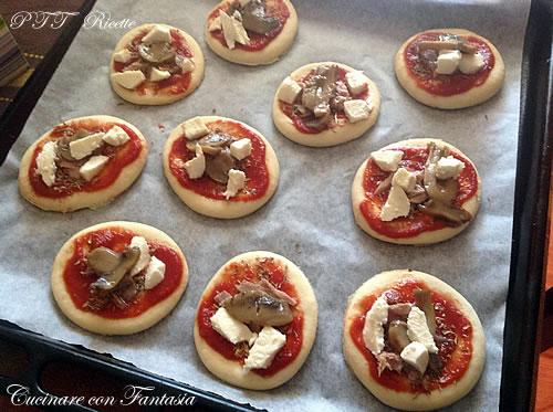 Pizzette da aperitivo 1