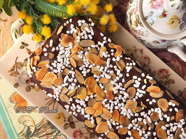 Plumcake al cacao senza grassi 5