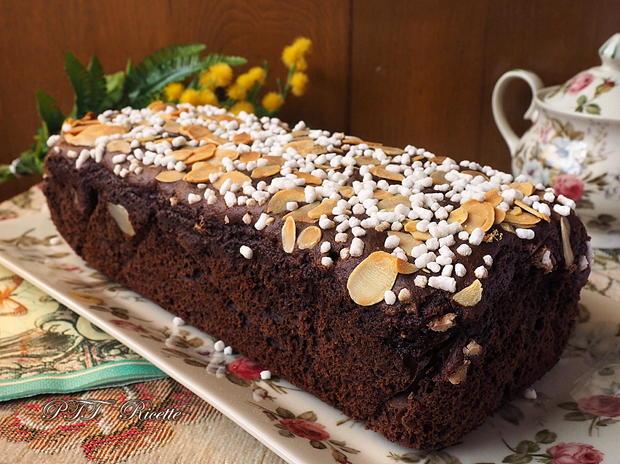Plumcake al cacao senza grassi