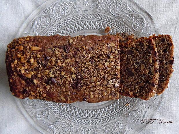 Plumcake con cioccolato e noci 2