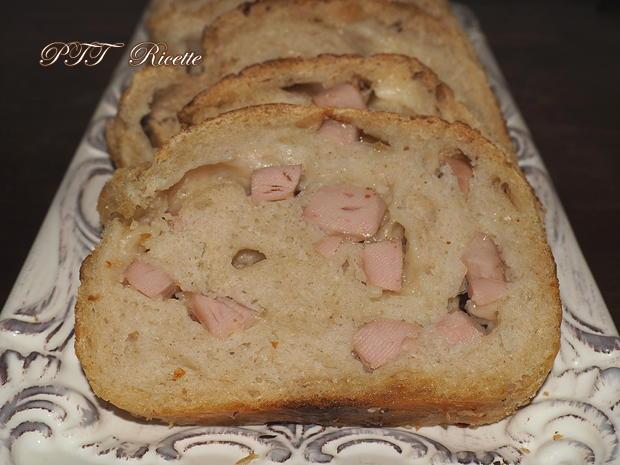 Plumcake con wurstel e provolone 11