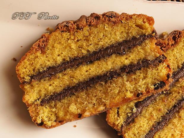 Plumcake soffice farcito con Nutella 8