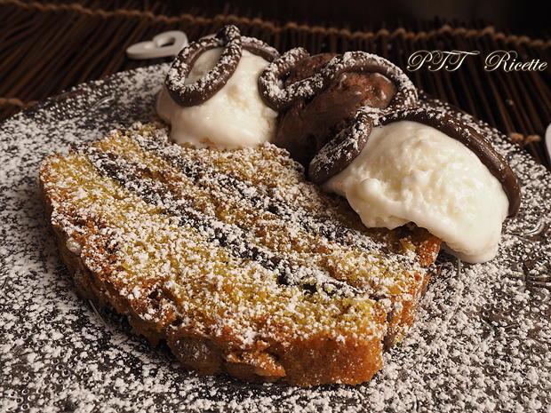 Plumcake soffice farcito con Nutella