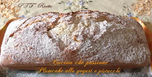 Plumcake yogurt e pistacchi 1
