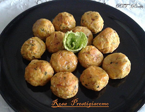 Polpette di pollo e curry