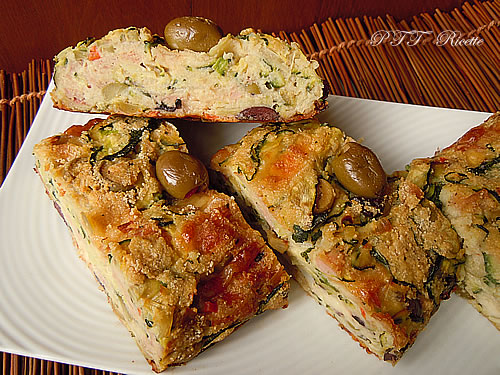 Polpettone di zucchine e olive 6