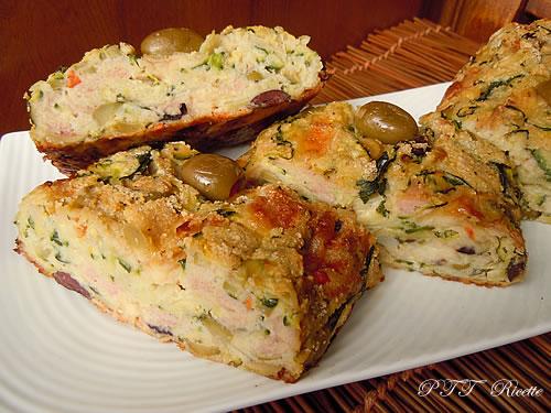 Polpettone di zucchine e olive 7