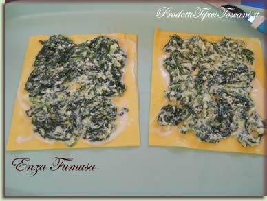 Rotolini di lasagne con ricotta e spinaci 2