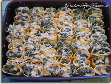 Rotolini di lasagne con ricotta e spinaci 4