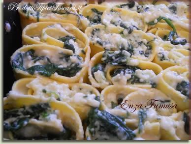 Rotolini di lasagne con ricotta e spinaci 5