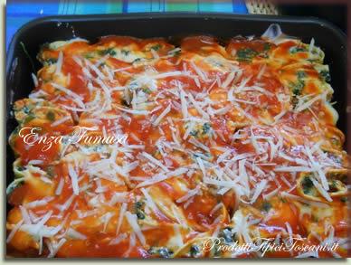 Rotolini di lasagne con ricotta e spinaci 6