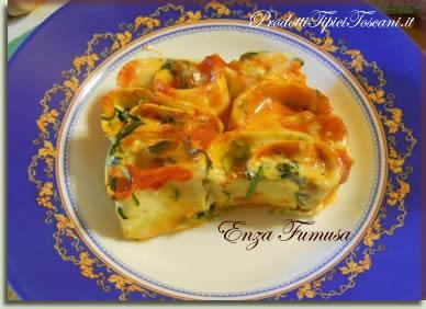 Rotolini di lasagne con ricotta e spinaci 7