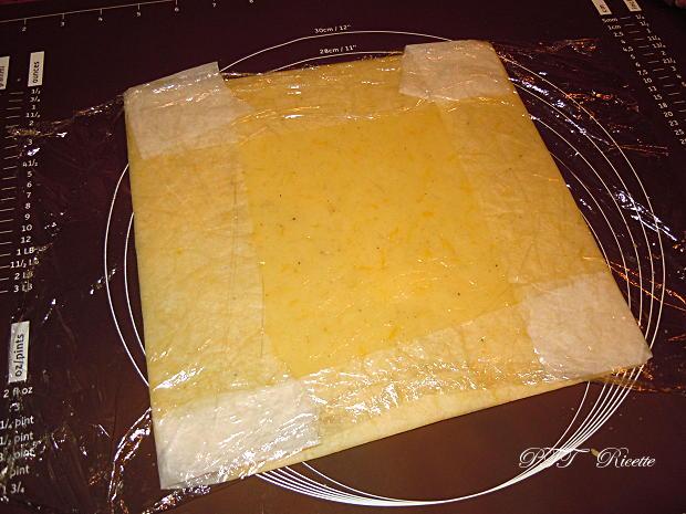 Rotolo di frolla senza glutine e senza burro con marmellata 1